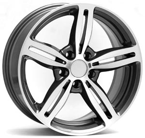 Диски BMW W652 AGROPOLI ANTHRACITE POLISHED