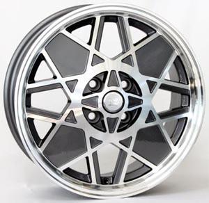 Литые диски FIAT W158, 500 Sport Restyling