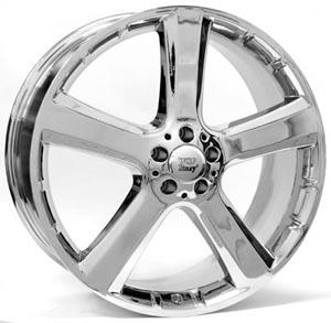 Литые диски Mercedes W751, COPACABANA, хромированные диски