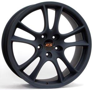 Литые диски WSP Italy Porsche W1051, TORNADO FL.F. Dull Black
