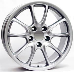 Литые диски WSP Italy Porsche W1052, CORSAIR GT3 Silver