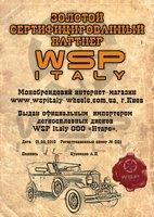 Золотой сетрифицированный партнер WSP Italy